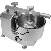 Cutter professionale in alluminio anodizzato e vasca in acciaio inox - Capacità Vasca 3 Lt.