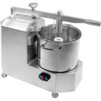 Cutter professionale in alluminio anodizzato e vasca in acciaio inox - Capacità Vasca 5 Lt.