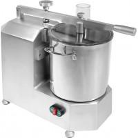 Cutter professionale in alluminio anodizzato e vasca in acciaio inox - Capacità Vasca 8 Lt.