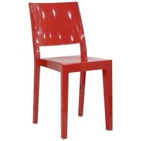 Sedia con struttura in policarbonato (4 pcs)