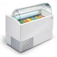 Vetrina gelato promozionale a refrigerazione statica