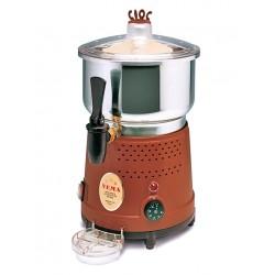 Cioccolatiera professionale a cottura con contenitore in acciaio inox da 8 litri