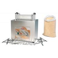 Asciuga lucida posate automatico in acciaio inox