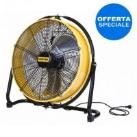 Ventilatore professionale mobile - Diametro esterno 50 cm - Portata d'aria ERP 6.600 m3/h