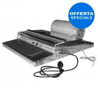 Film Dispenser 450 a piano caldo con dimensione massima film 450 mm