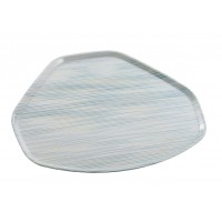 Vassoio trapezoidale in poliestere di dimensioni 496x370 mm (24 Pezzi)