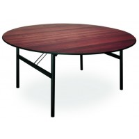 Tavolo in legno di faggio con base in ferro
