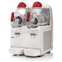 Granitore elettronico 2 vasche, capacità 10+10 litri
