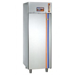Armadio refrigerato di Fermalievitazione in acciaio inox per Pasticceria - 1 PORTA - 740x825x2080h mm