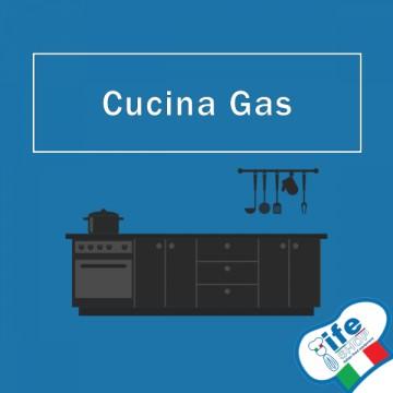 Attrezzatura completa per Cucina Gas Professionale