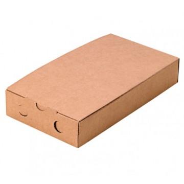 Scatola per bruschette cartone kraft 300x150x50 mm (100 pcs)