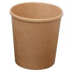 Contenitore cartone avana da zuppa/gelato 450 ml. (500 pcs)