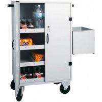 Carrello rifornimento frigo bar