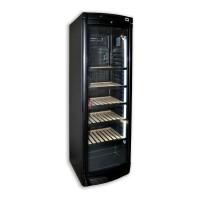Espositore verticale refrigerato per vino