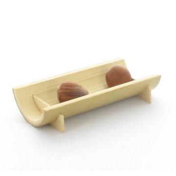 Vassoietto Mezza Canna Di Bambù Semicerchio 10 X 5 Cm
