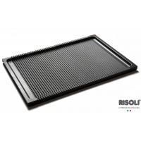 Piastra Barbeque Grigliata in Alluminio Pressofuso - 38x26,5 cm
