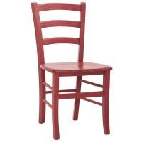 Sedia con struttura in legno, seduta in legno (2 pcs)