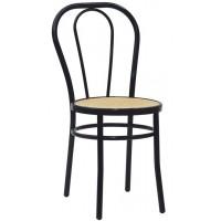 Sedia in acciaio verniciato, seduta in polipropilene (4 pcs)