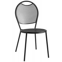 Sedia con struttura in acciaio verniciato (6 pcs)