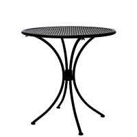 Tavolo da esterno in metallo verniciato