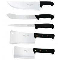 Set coltelli professionali Macelleria in acciaio inossidabile - 12 Pezzi