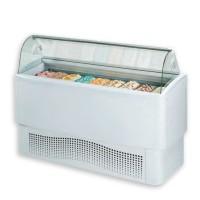 Vetrina gelato promozionale a refrigerazione ventilata