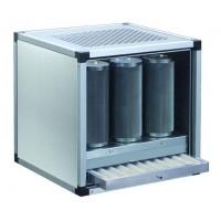 Gruppo di filtrazione e deodorizzazione aria
