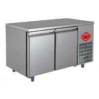 Tavolo da laboratorio inox a refrigerazione ventilata