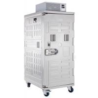 Cella frigorifera mobile, zaino frigo tetto, ventilato, con ruote (-20°/+10°C) Capacità 830 Lt.