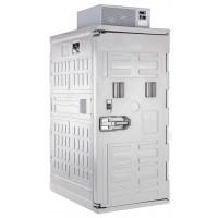 Cella frigorifera mobile, zaino frigo tetto, ventilato, con pallet (-20°/+10°C) Capacità 830 Lt.