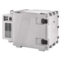 Contenitore frigorifero mobile, zaino frigo dorso, ventilato (0°/+10°C) Capacità 148 Lt.