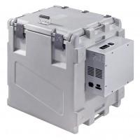 Contenitore frigorifero mobile, apertura superiore, zaino frigo laterale, statico (0°/+10°C) Capacità 148 Lt.
