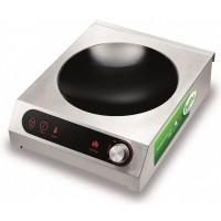 Piano ad Induzione Wok Touch Control. Potenza 3,5 Kw (4,7 Hp)