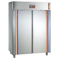 Armadio refrigerato di Fermalievitazione in acciaio inox per Pasticceria - 2 PORTE - 1500x820x2020h mm