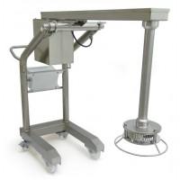 Turbo-trituratore frantumatore industriale in acciaio inox