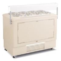Espositore e conservatore per la vendita di gelato mantecato in carapine (-5/-20ºC)