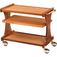 Carrello di servizio in legno