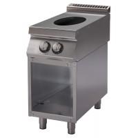 Cucina Wok con piano di cottura a induzione