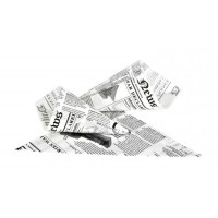 Cono in carta stampa giornale (5000 pcs)