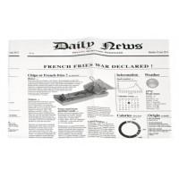 Carta alimentare antiunto stampa giornale 270 x 350 mm (1000 pcs)