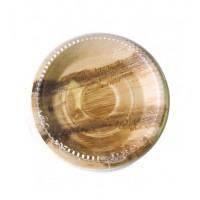 Piatto tondo palma diametro 25 cm (100 pcs)